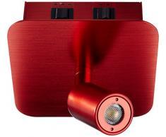 SLV Wandspot Napia, 3,8W, Power LED, 3000 K, rot 155106