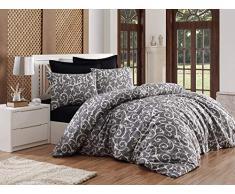 EnLora Home Bettdecke, Einzelbett, Schwarz, 160 x 220 cm, 3 Einheiten