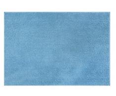 O & N Teppich Badezimmer Softip 50x 90Polyester 90x 50cm, Polyester, türkis, 50x90 cm