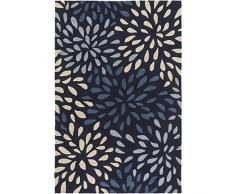 Surya COS9265-268 Cosmopolitan Läufer Traditionell 2 x 3 blau