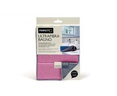 Perfekt ultrafibra Tuch Badezimmer, Stoff, Avio/Puder, 17Â x 21Â x 0.5Â cm