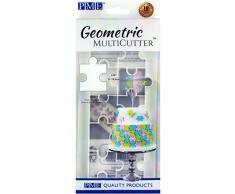 PME Geometrischer MultiCutter - marokkanische Laterne, groß Puzzle Large weiß