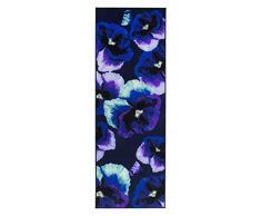 Vallila CM001047-50 Orvokki Gedruckt Läufer, Polyester, blau, 80 x 230 cm