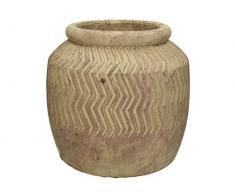 Blumentopf terracotta - Braun