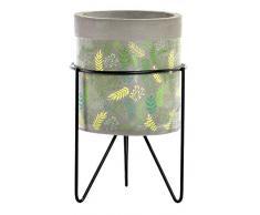 Item Blumentopf aus Keramik, Tropical 20 x 13 cm