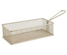Villa dEste Home Tivoli die Küche Korb für Pommes, Eisen, Grau, 32x 10x 8cm