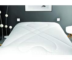 Soleil docre Bettdecke, weich, Polyester, 220 x 240 cm, Weiß