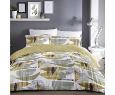 Dreams & Drapes Saldana Bettdecke pflegeleicht, Ochre Yellow, King Size