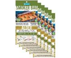 Camerons Produkte Emeril zugelassenen Smoker Taschen, Alder, Sechserpack