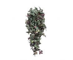 MICA Decorations 953430 Tradescantia Haengend L70B30H20 Kunstpflanze, Polyester, grün, 70 x 30 x 20 cm