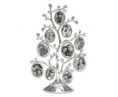 MIMOSA MOMENTS Stammbaum aus Metall mit 10 hängenden Bilderrahmen, Collage Schreibtisch Ornamente