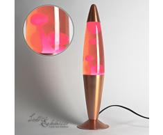 Licht-Erlebnisse / LA551902 / Lavalampe Timmy Pink / 36 cm hoch/Kabelschalter