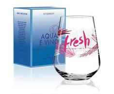 RITZENHOFF Aqua e Vino Wasser- und Weinglas von Virginia Romo, aus Kristallglas, 540 ml, im modernen Design
