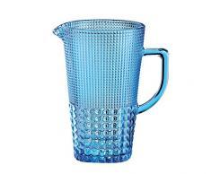 Cilio 290431 Karaffe, Glas, aquamarin, 15,5 x 14,5 x 22,5 cm