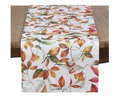 Occasion Gallery Multi Fall Leaf Tischsets, Läufer, Tischdecken, Stoffservietten, Tischwäsche (Größe wählen) Shaker 16 X 72 Runner Mehrfarbig
