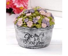 Blossom Eimer 191-12208 Grow A Life You Love Blumentopf, Mehrfarbig