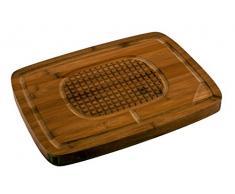 CS Kochsysteme 044626 Küchenhelfer, Bambus, braun, 38 x 28,3 x 6,4 cm