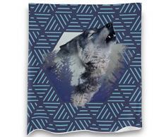 Loong Design No Drama Llama Überwurf, super weich, flauschig, Premium-Sherpa-Fleece-Decke, 127 x 152 cm, passend für Sofa, Stuhl, Bett, Büro, Reisen, Camping, Geschenk 50x 60 Wolf