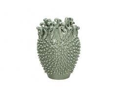 Blumentopf Keramik - grau