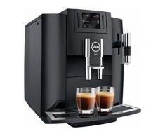 Kaffeevollautomat 15083 E80, Kegelmahlwerk , JURA Schwarz