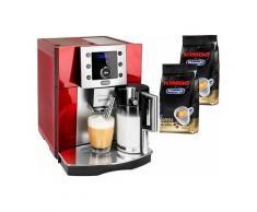 De'Longhi Kaffeevollautomat Perfecta ESAM 5550, Kegelmahlwerk , DELONGHI Rot