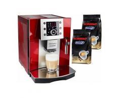 De'Longhi Kaffeevollautomat Perfecta ESAM 5400, Kegelmahlwerk , DELONGHI Rot