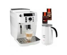 DELONGHI De'Longhi Kaffeevollautomat ECAM 21.118.W, Kegelmahlwerk , Weiß