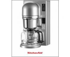KITCHENAID Filterkaffeemaschine 5KCM0802ECU, 1,18l Kaffeekanne , Silber