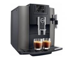 Espresso-/Kaffee-Vollautomat E8, Dark Inox, JURA Schwarz