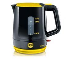 SEVERIN Wasserkocher WK 9742, Borussia Dortmund Fanartikel 1,2 Liter, 1500 Watt, schwarz-gelb, Gelb