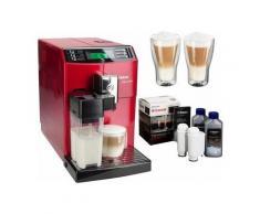 SAECO Kaffeevollautomat HD8867/12 Minuto One Touch, Scheibenmahlwerk , Rot
