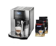 DELONGHI De'Longhi Kaffeevollautomat Perfecta ESAM 5708, Kegelmahlwerk , Silber
