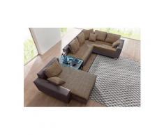 Wohn-Landschaft, wahlweise mit Bettfunktion, Tisch, RGB Lampen oder mit USB Anschluss RAUM.ID
