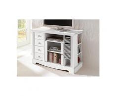 HOME AFFAIRE TV-Tisch, Breite 108 cm, Belastbarkeit bis 50 kg, Weiß