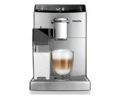 Kaffeevollautomat 4000 Serie EP4050/10, mit Coffeeswitch, Milchkaraffe und AquaClean, silber, PHILIPS Silber
