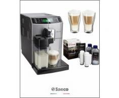 Kaffeevollautomat HD8867/11 Minuto, Scheibenmahlwerk , SAECO Silber