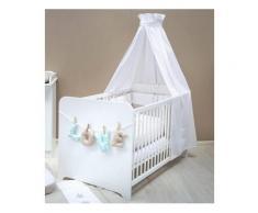 Babybett passend zur Babymöbel Serie »Happy«, in, NECKERMANN Weiß