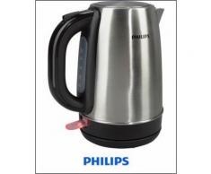 Wasserkocher HD9321/00, 2200 Watt, für 1,7 Liter, Edelstahl, PHILIPS Silber