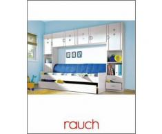 Jugendzimmer mit Hängeschrank (4-tlg.) RAUCH