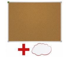 Franken Kork-Pinnwand »U-Act! Line« inkl. Moderationskarten »Wolke«