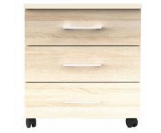Rollcontainer von OTTO Office in Weiß, 50x55x39.5 cm