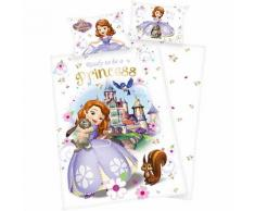 Wende- Kinderbettwäsche Disney Sofia die Erste, Renforcè, 100 x 135 cm