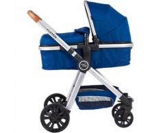 Kombi Kinderwagen FOR YOU, blau-silber