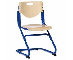 Schreibtischstuhl KID's Chair Plus Blau/Buche