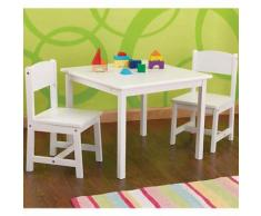 Kindersitzgruppe Aspen, 3-tlg., weiß