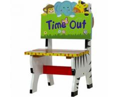 """Kinderstuhl Dschungel ""Time Out"", teilmassiv"""
