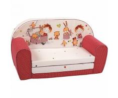 Kindersofa Spielzimmer, rot