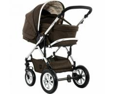 Kombi Kinderwagen LUSSO City, brown/melange