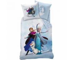 Wende- Kinderbettwäsche Disney´s Die Eiskönigin, Biber, 135 x 200 cm