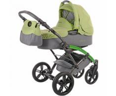 Kombi Kinderwagen Voletto Happy Colour, grau-grün